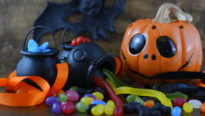 Halloween Decorations With The Kids