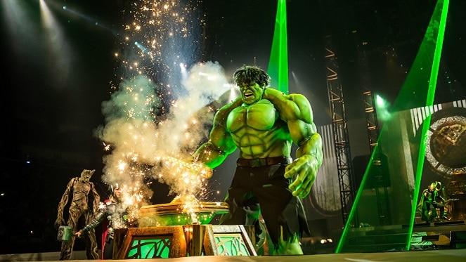 Marvel Universe LIVE! At Sun Arena Time Square