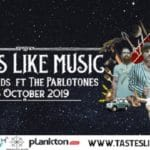 Tastes Like Music #For Legends featuring The Parlotones