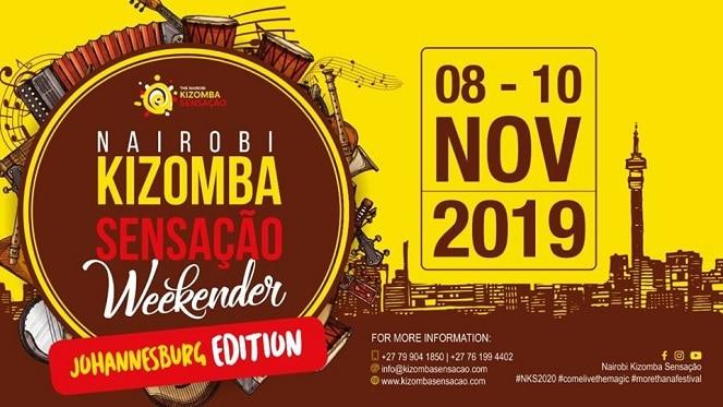 Nairobi Kizomba Sensação Weekender – Johannesburg Edition