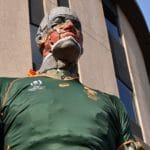 Atterbury Dresses Giant Sculpture In Bok Colours In Spi...