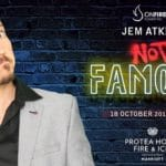 Jem Atkins in Not Famous: a One-Man Comedy Show