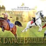 South African Lipizzaners Present War Dance Battle Tact...