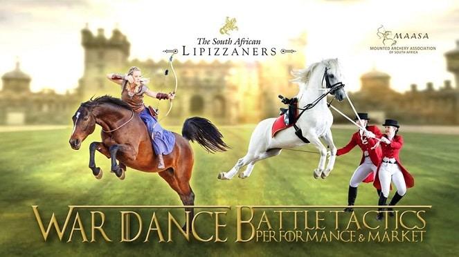 South African Lipizzaners Present War Dance Battle Tactics