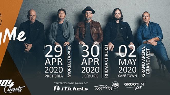 MercyMe South Africa Tour