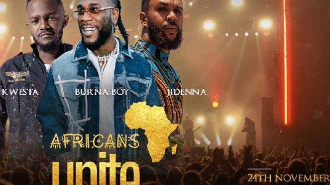 Africans Unite Concert