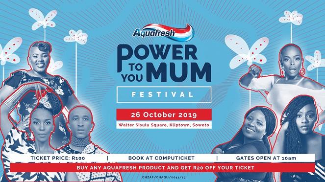Aquafresh Power To You Mum Festival