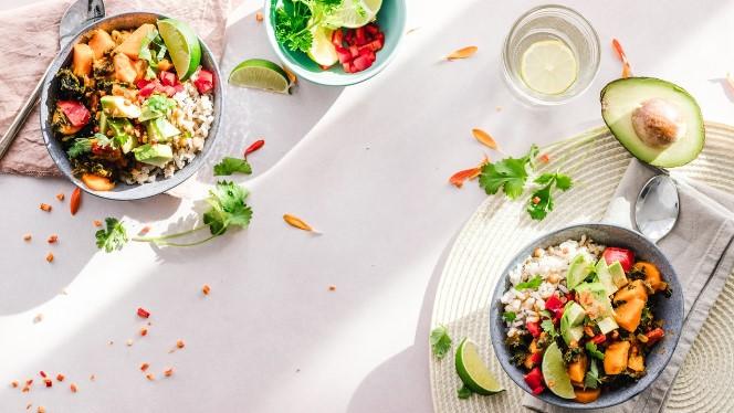 vegan and vegetarian bowls