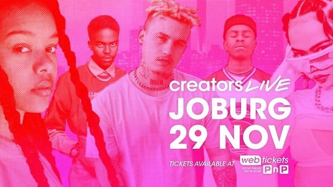 Creators Live Joburg