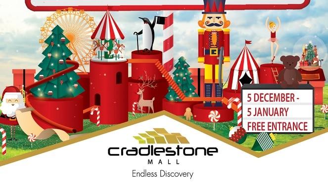 Don't Miss Santa's World Of Wonder At Cradlestone Mall This December!