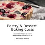 Pastry & Dessert Baking Class