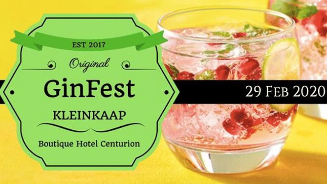 Original Kleinkaap GinFest 2020