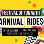 Festival of Fun With Carnival Rides at Eastgate Sh...