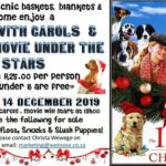 Picnic with carols and a movie under the stars!
