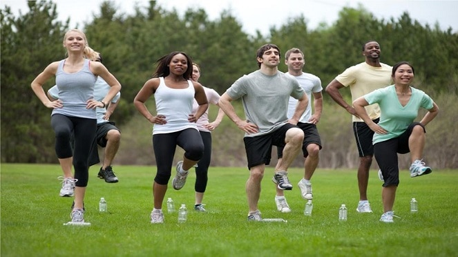 Get Back Into Shape Bootcamp Classes