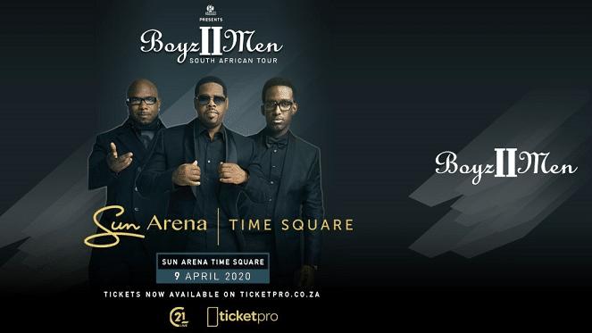 POSTPONED: Boyz II Men South African Tour 2020