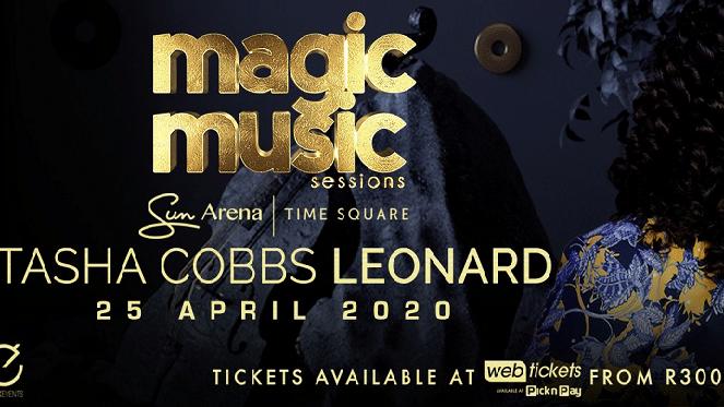 A Magic Music Session With Tasha Cobbs Leonard