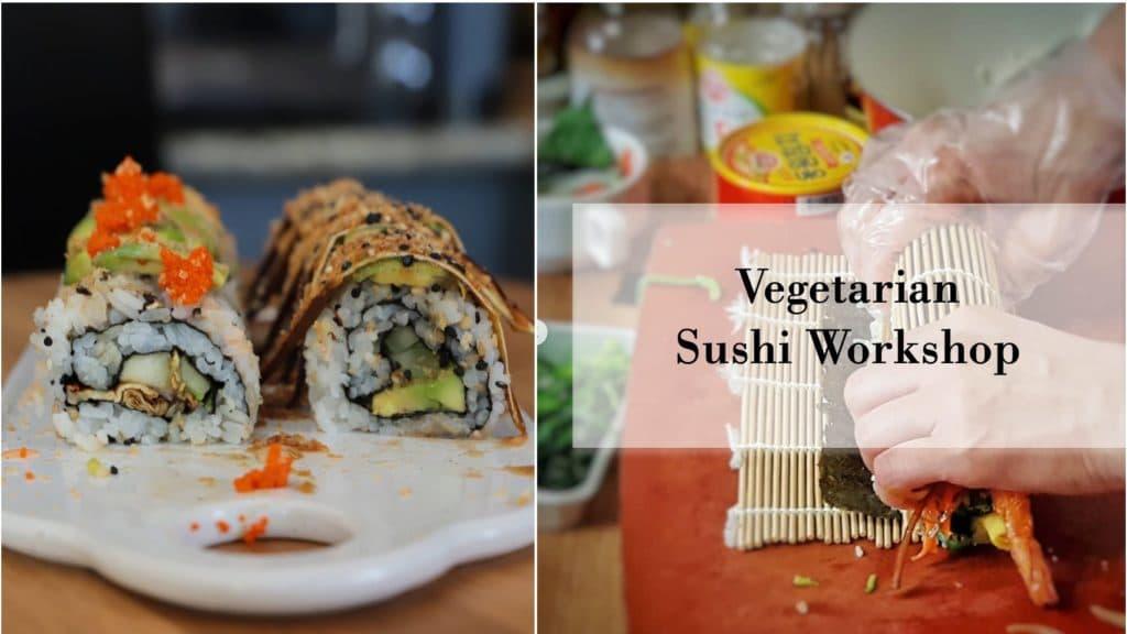Sushi 101 for Vegetarians