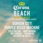 Corona Beach - Johannesburg