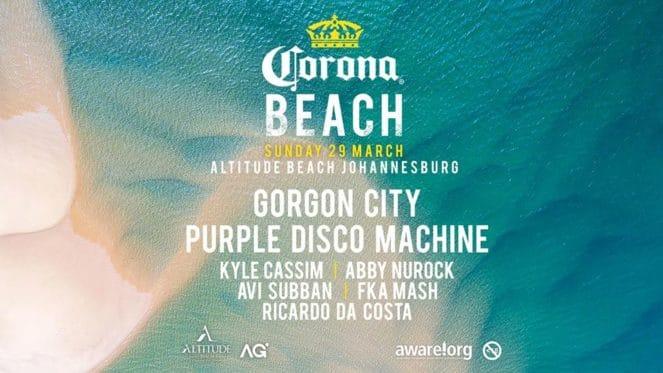 Corona Beach – Johannesburg