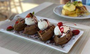 Little Belgium: Black Forest Waffle