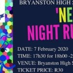 Bryanston High School Neon Night Run