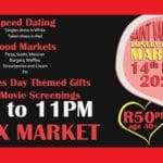 St Valentine Lonely Hearts Market At Fox Junction Venue