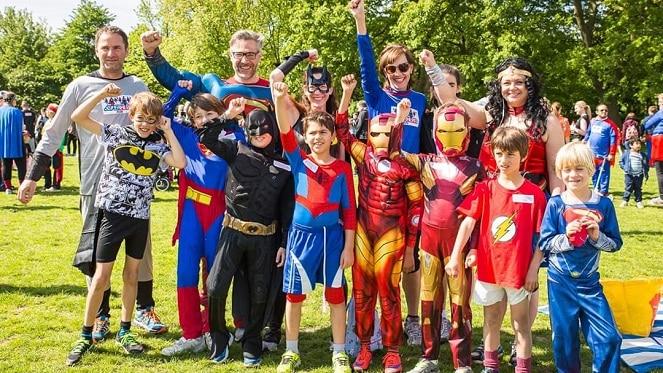 Superhero family festival