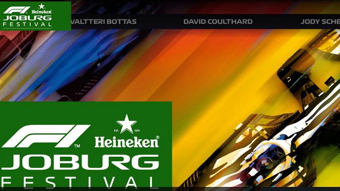CANCELLED: F1 Festival: Heineken® F1 Joburg Festival