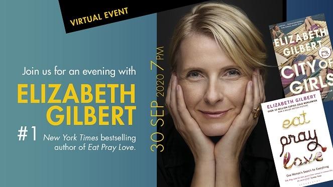 Enjoy A Night In With Elizabeth Gilbert