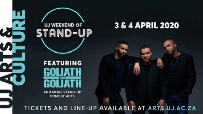 UJ Weekend of stand-up