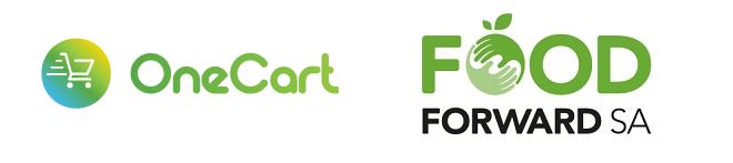 foodforwardsa and onecart green logos