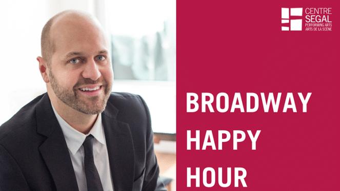 Broadway Happy Hour With Nick Burgess