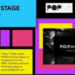 POPArt Theatre Presents - Open Stage Night, Virtually