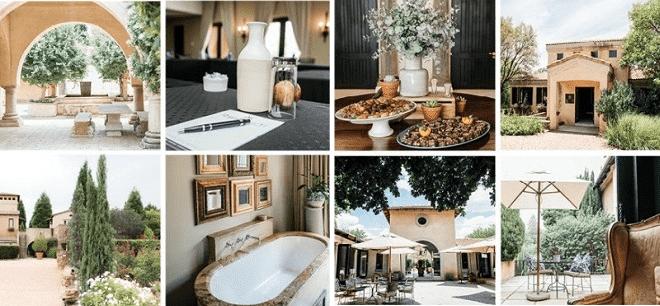 avianto venue collage of their various facilities