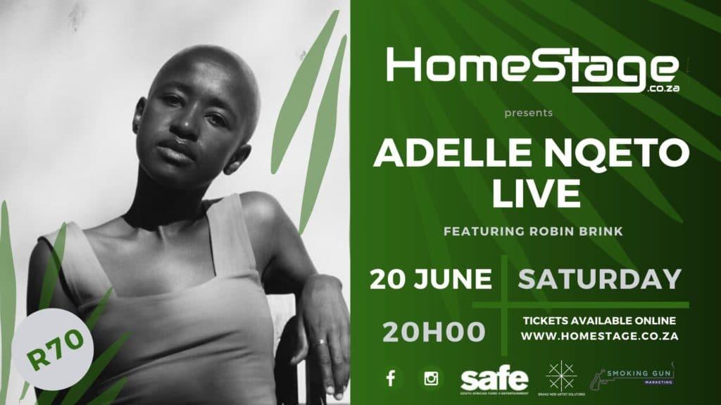 Adelle Nqeto LIVE