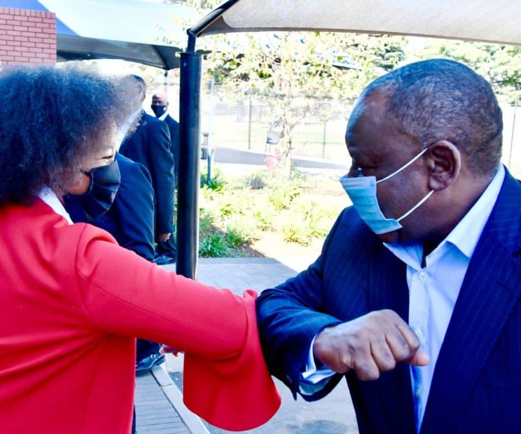 South Africa's new coronavirus cases 'amongst the highest in the world'