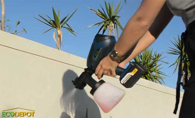 spray gun disinfecting