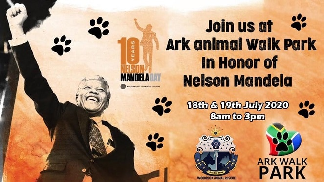 Woodrock Mandela Day Launching Ark Animal Walk Park