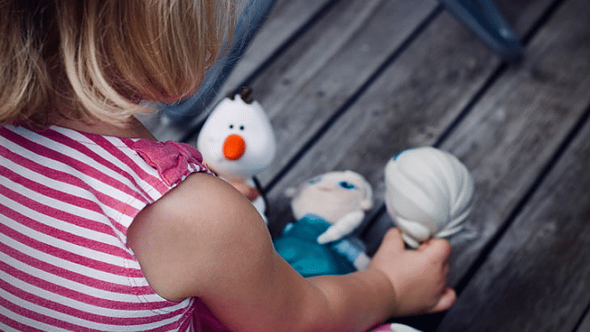 frozen princess plush toys