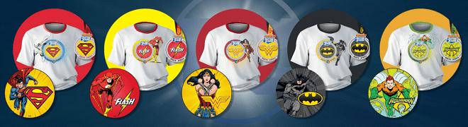 justice league superhero shirts
