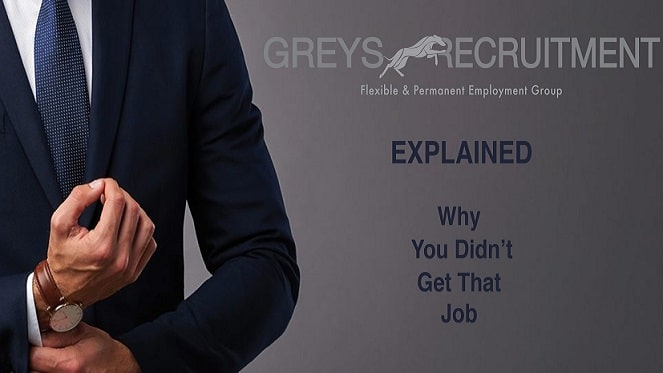 Explained - Why you didn't get that job