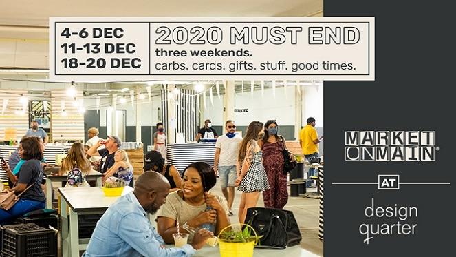 Market on Main Design Quarter Collab poster 2