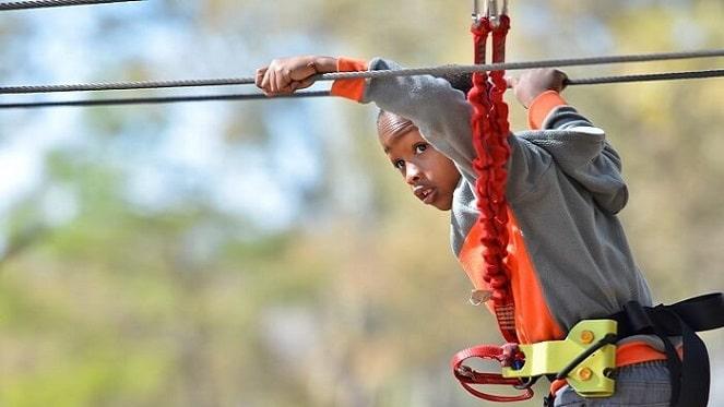 Kid-at-Acrobranch-Melrose-in-Johannesburg