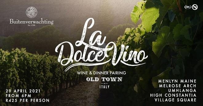 old town italy la dolce vino april